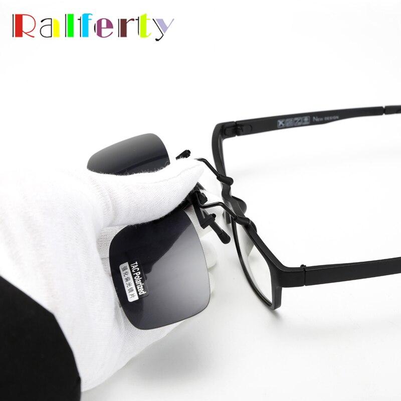 52ba0ceabc Bărbaţi   s ochelari Ralferty Quality Polarized Clip On Sunglasses Men  Sport Driving Night Vision Clip Anti UVA Sun Glasses Women Oculos Gafas De  Sol