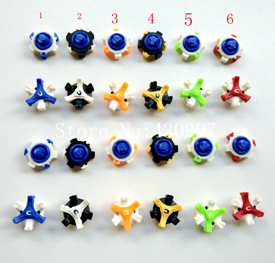 Golf Shoe Spikes CHAMP STINGER Golf Spikes TRI-LOK Fast Twist Golf Replacement For Footjoy 28pcs  Free S figurine