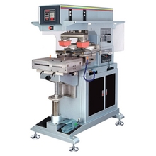 automatic 2 color electric pad printing machine,electric tampon print