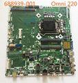 688939-001 para hp omni 220 ipisb-nk h61 lga1155 motherboard 688938-001 mainboard 100% totalmente testado trabalho