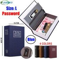 Dictionary Safe Box Popular Secret Book Money Hidden Secret Security Safe Lock Cash Money Coin Storage Jewellery Password Locker