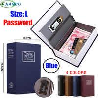 Wörterbuch Safe Beliebte Secret Buch Geld Versteckte Geheimnis Sicherheit Safe Lock Cash Geld Münze Lagerung Schmuck Passwort Locker
