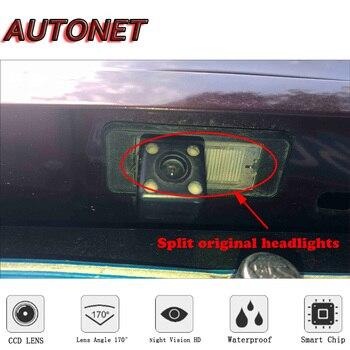 Осенняя HD камера заднего вида ночного видения для Peugeot 208 2012 2013 2014 2015 2016 2017 Оригинальная камера с отверстием/номерным знаком