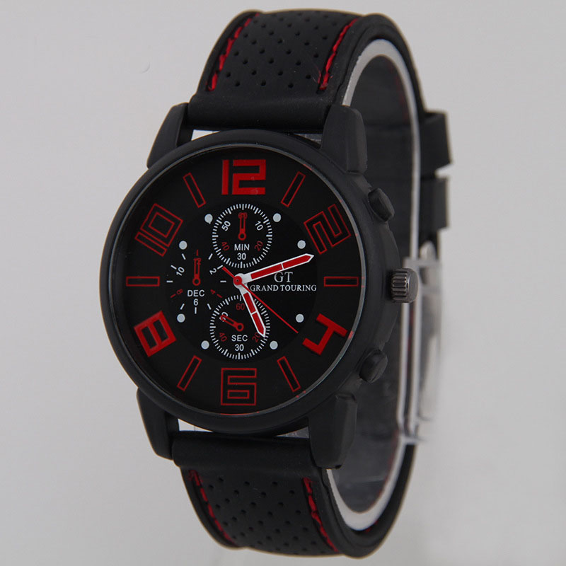 NEW Top Luxury Brand Fashion Military Quartz Watch Men Sports Wristwatches Clock Hour Male Relogio Masculino 8O84