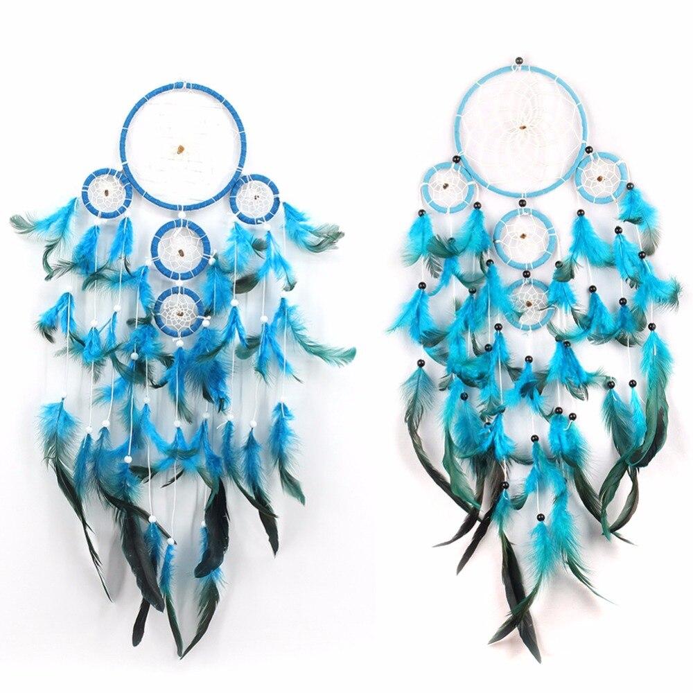 Φ_ΦHecho a mano Dreamcatcher Wind CHIMES indios estilo patrón de ...