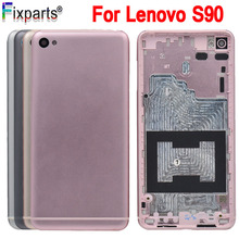 For Lenovo S90 Battery Door Back Cover Housing Case For Lenovo S90 Battery Cover back housing rear houisng Replacement Parts 100% tested original lenovo s90 lcd display touch screen digitizer pannel assembly with frame replacement s90 t s90 u s90 a tool