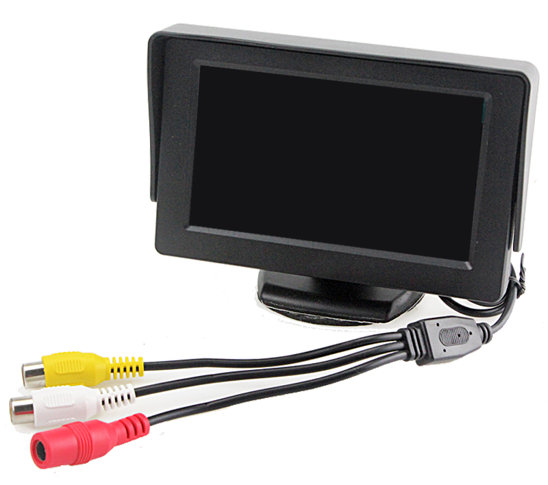Sinairyu HD Waterproof LCD Parking Monitors System With LED Night Vision Car Rear View Came