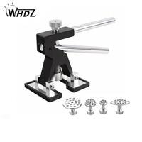 WHDZ Professional Hand Tool Sets Black Dent Lifter Car Paintless Dent Repair Tools Set Dent Puller Glue Tab