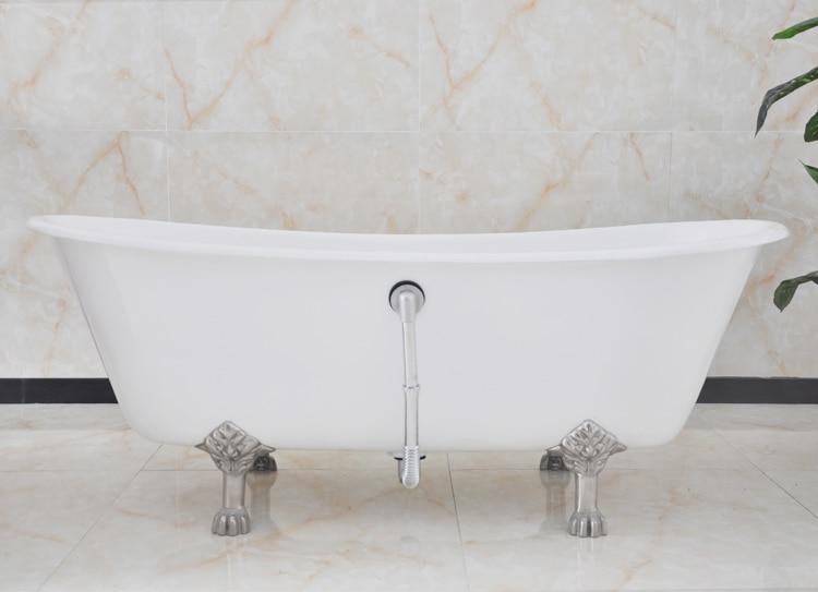 Vasca Da Incasso In Ghisa : Trasporto libero uso per interni ghisa doppio slipper vasche