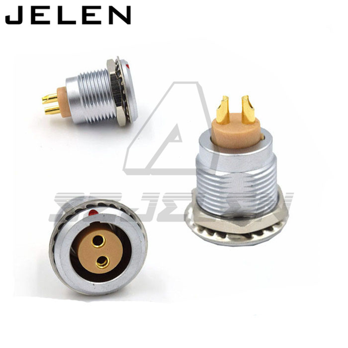 SZJELEN 2 pin connector, FGG.2B.302.CLAD**Z ,ECG.2B.302.CLL 15mm Panel Mount Connectors Plugs and sockets rated 10A