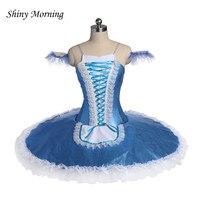 Балетки платье пачка взрослых Профессиональный гимнастика купальник «Лебединое озеро» Одежда для танцев для девочек блин балерина платье
