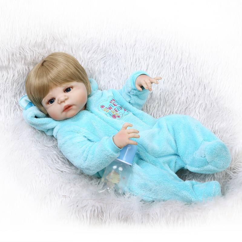 NPK Full Rubber Simulation Baby A Doll Lovely House Toys Gift Originality Recommend