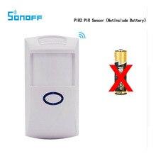 4pcs/lot Sonoff PIR2 Wireless Dual Infrared Intelligent PIR Motion Sensor Detection For Alexa Google Home Smart Security Alarm