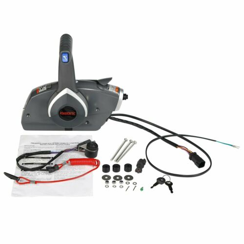FLASH SALE] Metal Outboard Side Remote Control Box Throttle
