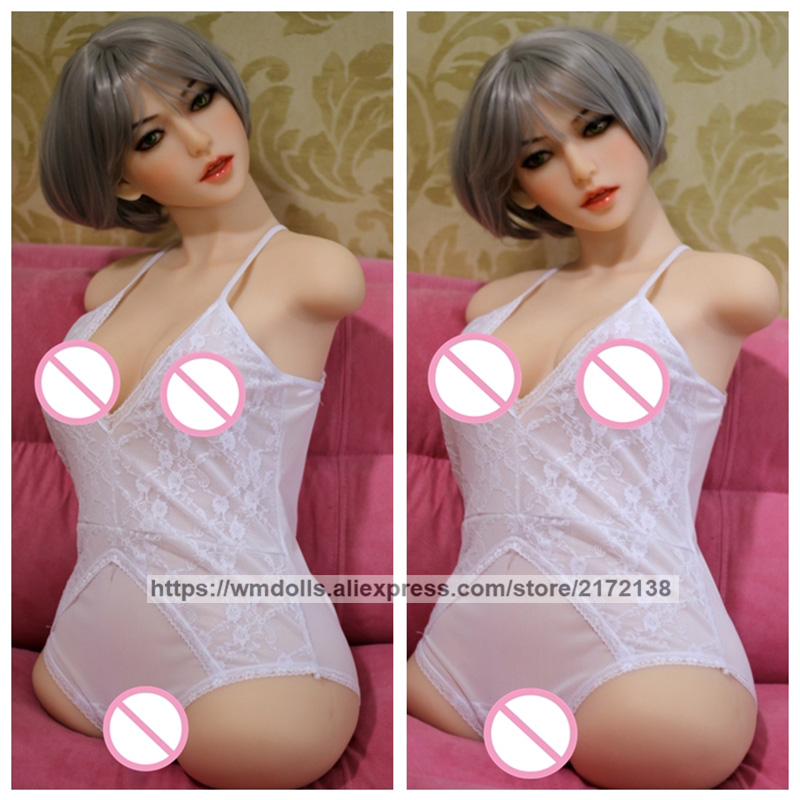 WMDOLL 82cm Sex Dolls Torso Realistic Silicone Doll For Sex Huge Breast Artificia Vagina in Sex Dolls from Beauty Health