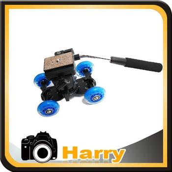 YT-950 Pro Video Camera Tripod Action Fluid Drag Head +Table Dolly Car, Camera Rail Car Table Dolly Car F Dslr Shooting Filming