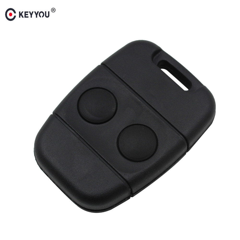 KEYYOU 2 Button Remote Key Fob Case Shell For Land Rover Discovery Freelander big discount 1 piece 4 1 button remote key card with 433mhz for land rover freelander 2 2006 2007 2008 2009 2010