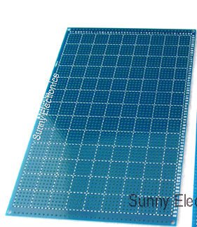 """10x15 см("""" X 6"""") Односторонний Прототип PCB панель универсальная печатная плата FR-4 стекловолокна Односторонняя печатная плата 10 шт./партия"""