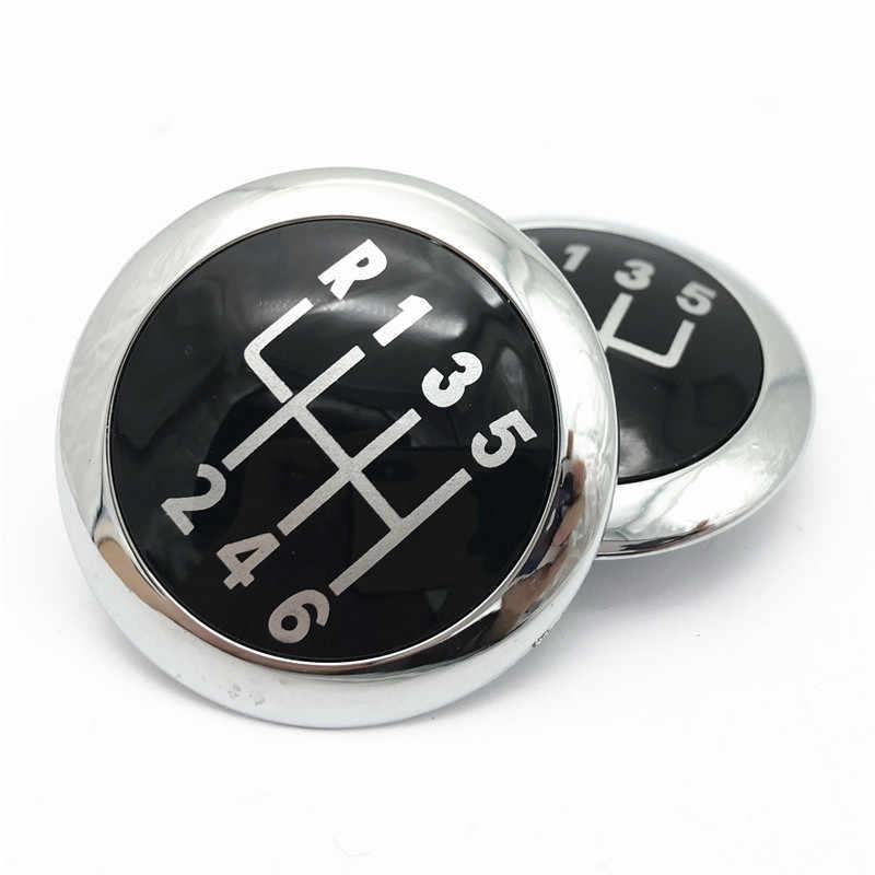 Pookknop Cap Emblem Badge Top Trim Cap Cover Case Voor Volkswagen Vw Passat B6 2005-2011 Auto styling Accessoires