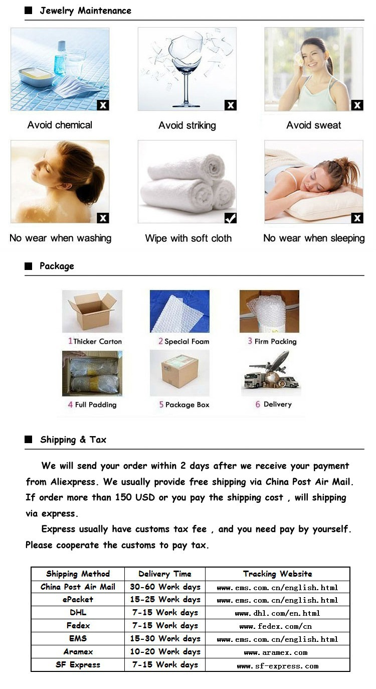 4. maintenance package and shipping