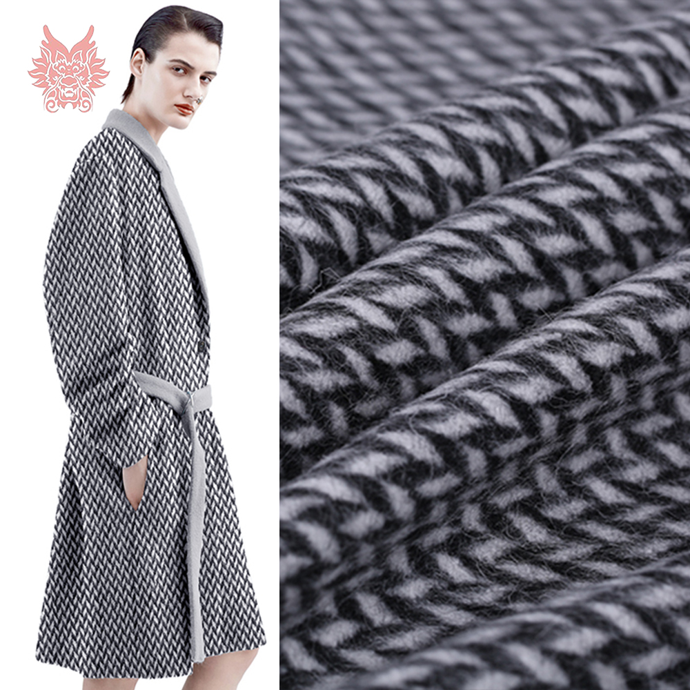 Arts,crafts & Sewing Wool Cotton Fabric Lattice Jacquard Weave Fabrics Autumn And Winter Tissus Men And Womens High-end Clothing Telas Shrink-Proof Home & Garden