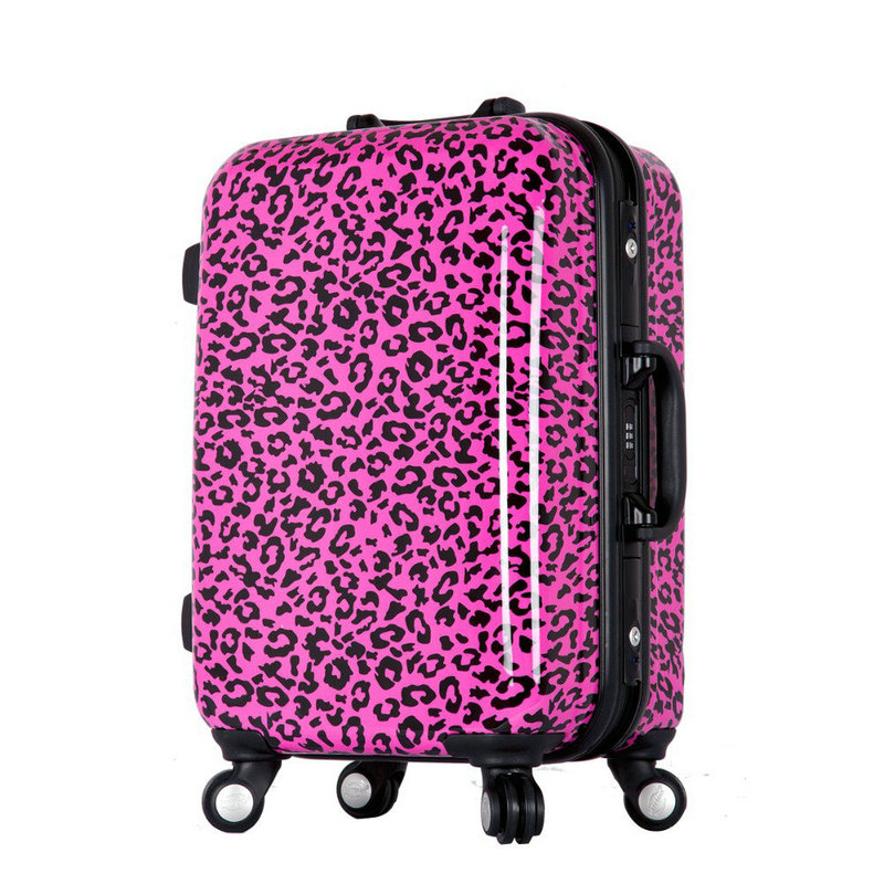 Popular Leopard Suitcase-Buy Cheap Leopard Suitcase lots from ...