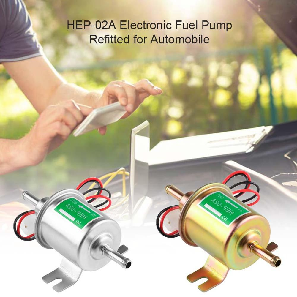 Image 5 - 12v/24v electronic pump HEP 02A automotive electronic gasoline pump Electronic fuel pump automotive diesel pump-in Fuel Pumps from Automobiles & Motorcycles