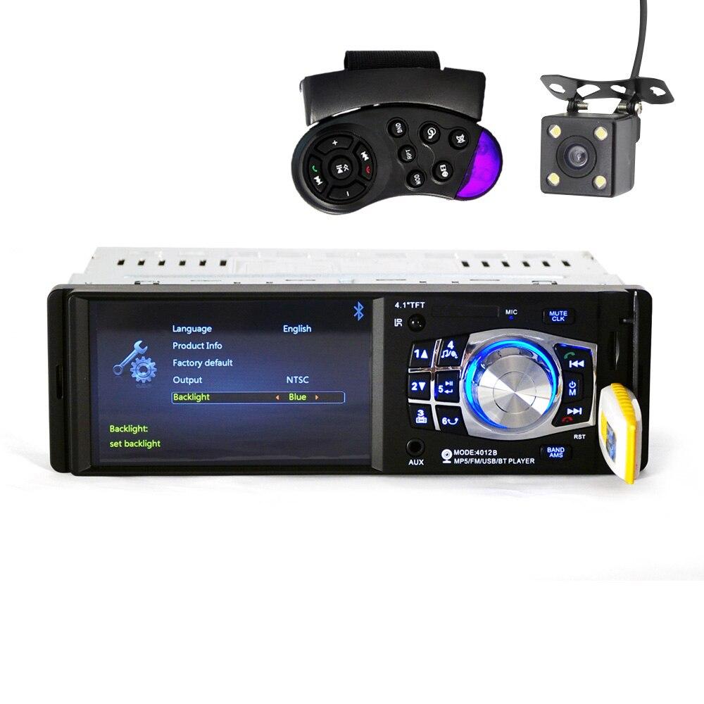 Car Radio Bluetooth Mp3 MP5 DVD Player Car Loudspeaker autoradio 1din SD USB TV Audio Remote