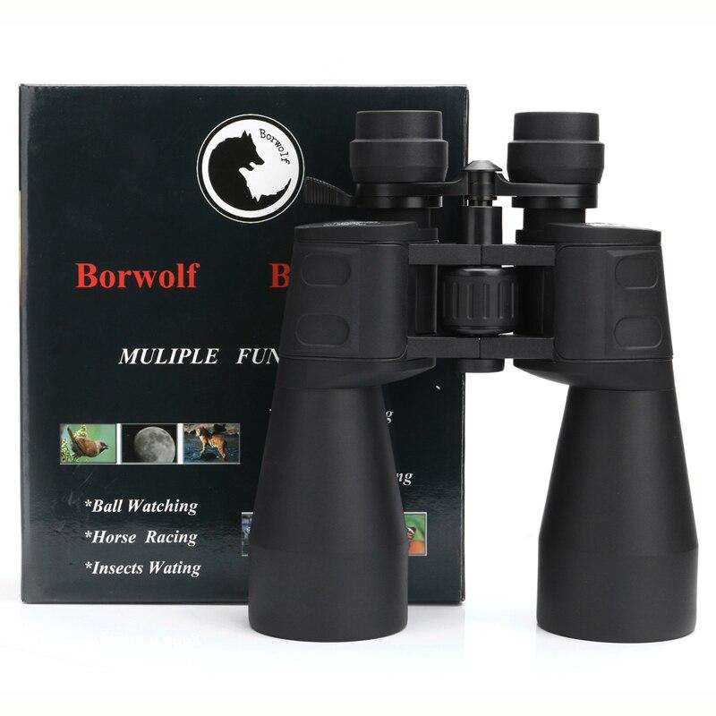 Borwolf 10-380X100 alta magnificación de largo alcance de zoom de 10-60 veces caza telescopio binoculares HD profesional de Zoom - 5