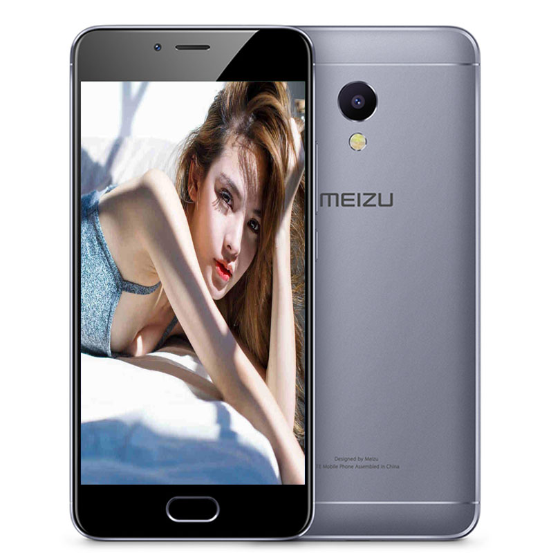 MEIZU M5S MTK6753 Cell Phone 5.2 inch octa-core mobile phone Fast Charging metal