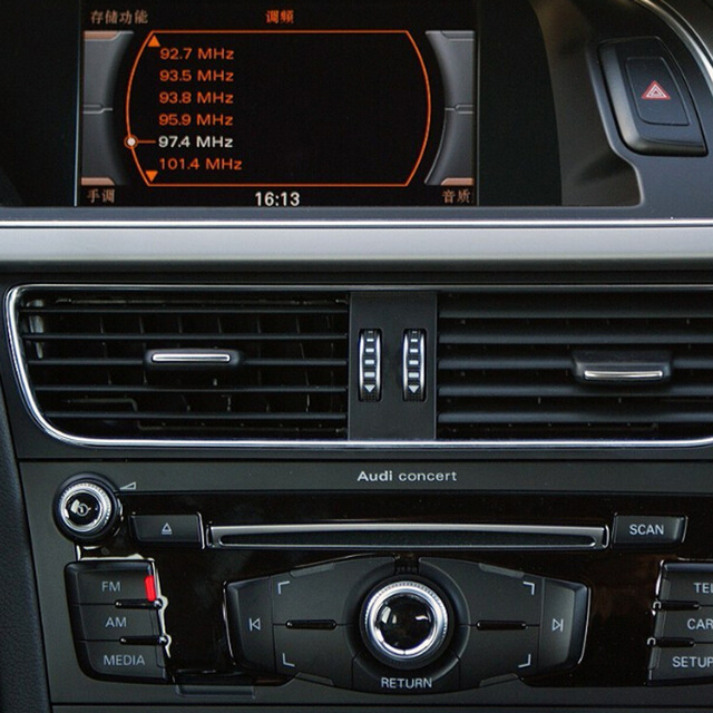 Insert Rear Camera and Front Camera Interface For 2008 Audi A4 (B8) Concert NO MMI Music System