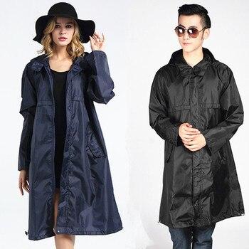 39875c8bc9c Abrigo de lluvia largo mujeres hombres poncho impermeable al aire libre  Tour lluvia abrigo Ponchos chaqueta capa de chuva chubasqueros impermeables  mujer