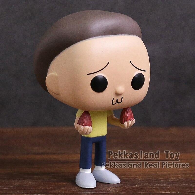 Rick and Morty Rick Sanchez PVC Figure Collectible Model Toy Golden Color