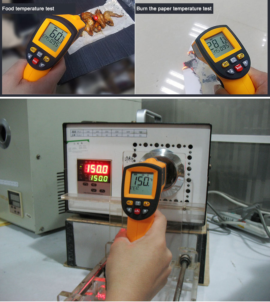 HTB1Qqt4XyHrK1Rjy0Flq6AsaFXal RZ IR Infrared Thermometer Thermal Imager Handheld Digital Electronic Outdoor Non-Contact Laser Pyrometer Point Gun Thermometer