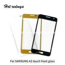 Front Glass For Samsung Galaxy A3 A300 A5 A500 A7 A700 Outer Glass Front Touch Screen Panel Digitizer Sensor Parts