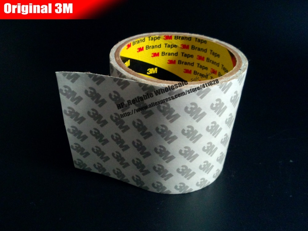 1 Roll 63mm Width 50 Meters Length 3M9080 Double Sided Adhesive Tape