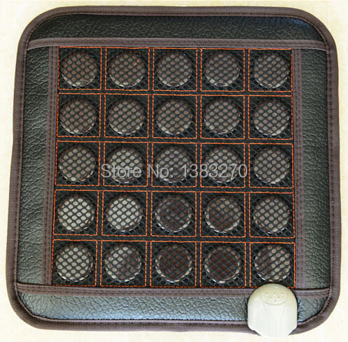цена As seen on tv electric heated cushion massage seat jade cushion heated seat cushion 45*45CM