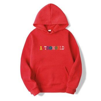 ad5c21c35fe4 2019NEW Men hoodies Travis Scott Astroworld WISH YOU WERE HERE Sweatshirt  Men fashion letter print Hoodie Men and woman Pullover   EaziBrand