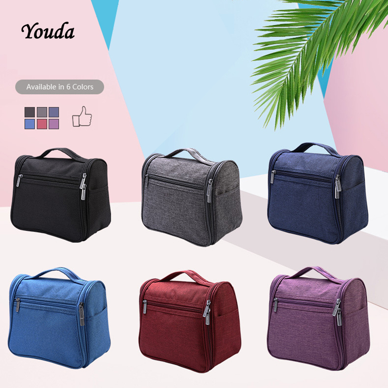 Youda Women Waterproof Cosmetic Bag Travel MakeUp Organizer For Toiletries Toiletry Kit Women's Portable Cosmetic Bags cellecool zipper makeup bag neceseries cosmetic bag small handbag travel organizer storage bag for toiletries toiletry kit cc001