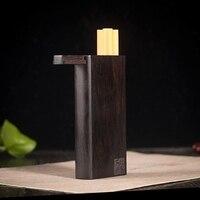 Высококачественный деревянный портсигар в стиле ретро, который может держать пять сигарет, мужские подарки