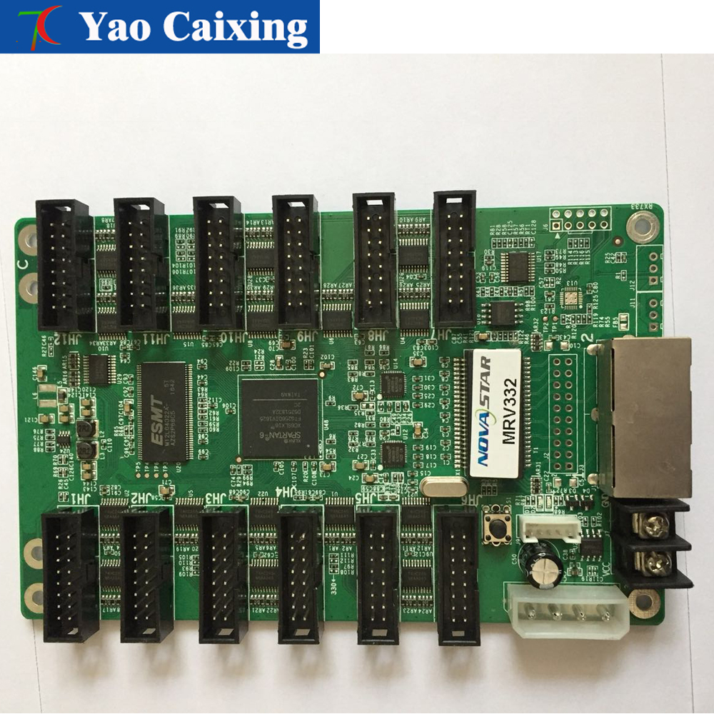 Novastar MRV 332 Support 16 scan 8scan 4scan, scanning mode.LED display Synchronous receiving card