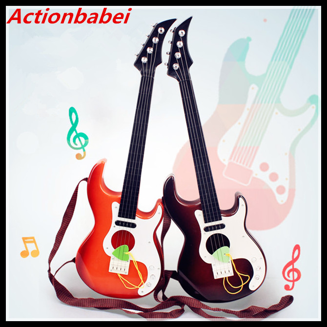 actionbabei high quality 4 strings music electric guitar kids musical instruments educational. Black Bedroom Furniture Sets. Home Design Ideas