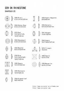 Image 5 - Прямоугольные Стеклянные стразы YANRUO, для шитья обуви, все размеры Lt.Siam, 3250