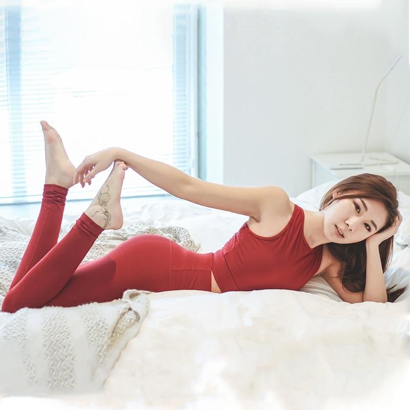 Women 4 Way Stretch Yoga Pants Tummy Control Workout Yoga Leggings High Waist Ultra Soft Lightweight Leggings Running Tights 1