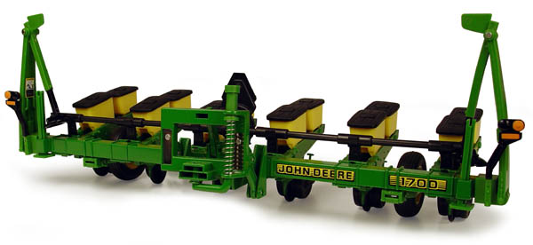 KNL HOBBY J Deere 1700 planter tin alloy tractor agricultural vehicle model US ERTL 1:16 knl hobby j deere 720 farm tractor alloy car models us ertl 1 16 special clearance