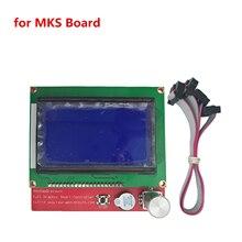 3D дисплее принтера ЖК-дисплей 12864 cpompatible Ramps1.4 liquid crystal умный контроллер Reprap 12864 ЖК-дисплей для схема высокого качества