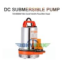 DC72V 900W Submersible Water Pump Clean Pool Flood Drain 4224GPH Solar Powered 85.3ft Head Home and Garden Aquarium Fish Pond