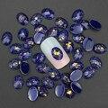 Синева 10 шт./лот 3D ногти украшениями гель бирюзовый шпильки смолы дрель DIY сапфир аксессуары для дизайн ногтей PJ187