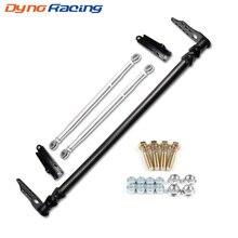 Dynoracing เงิน Traction Control Tie Bar สำหรับ Honda Civic 92 95 สำหรับ Acura สำหรับ Integra 94 01 สำหรับ honda DEL SOL 93 97