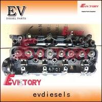 4FE1 culata de cilindro de tipo genuino para carretilla elevadora TCM